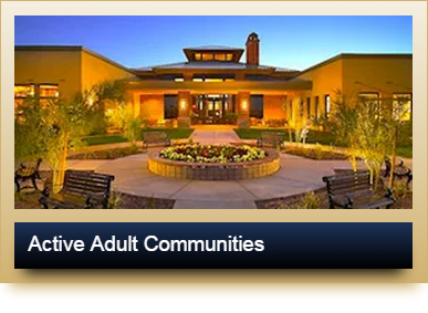 active adult retirement communities in arizona and texas